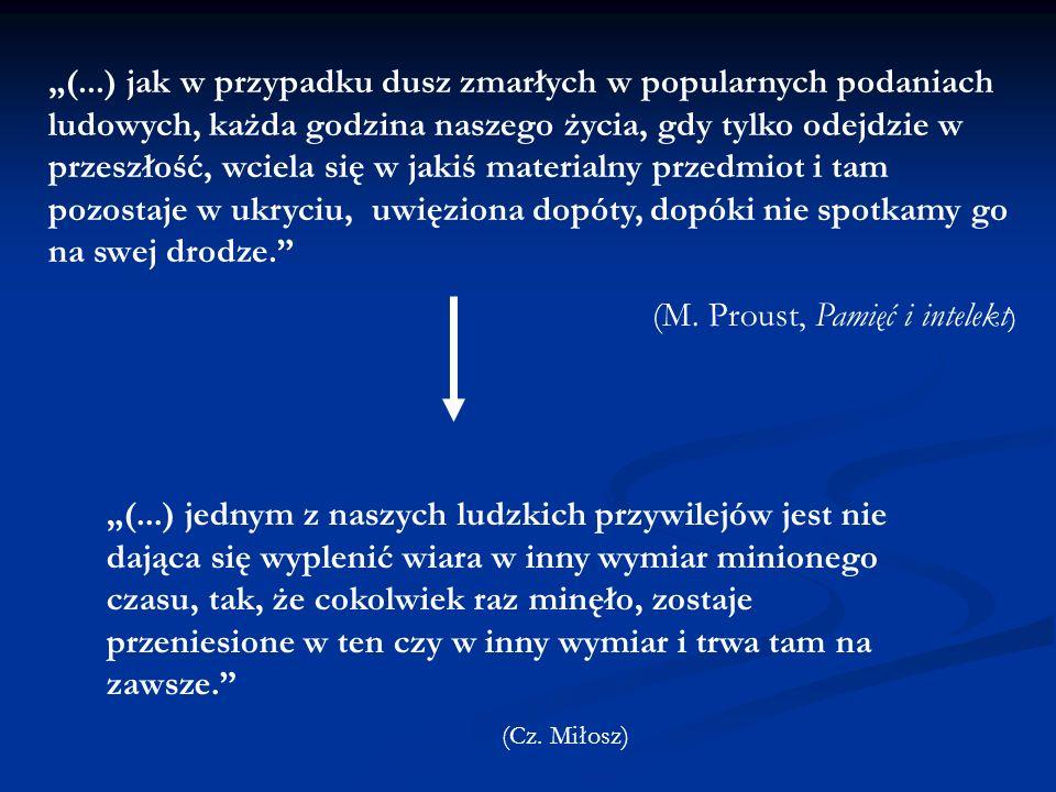(M. Proust, Pamięć i intelekt)