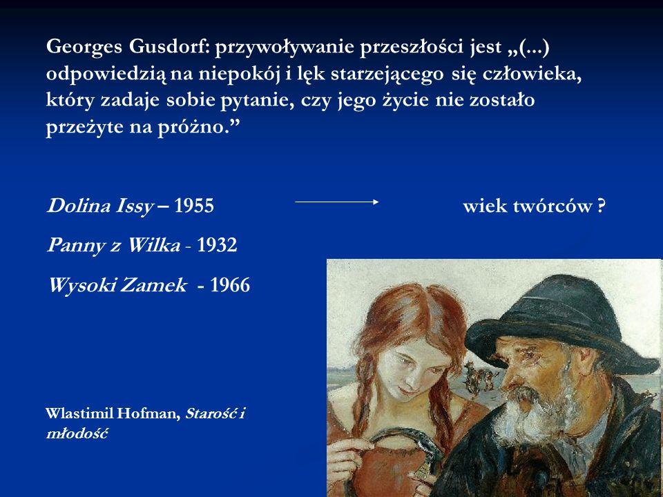 Dolina Issy – 1955 wiek twórców Panny z Wilka - 1932