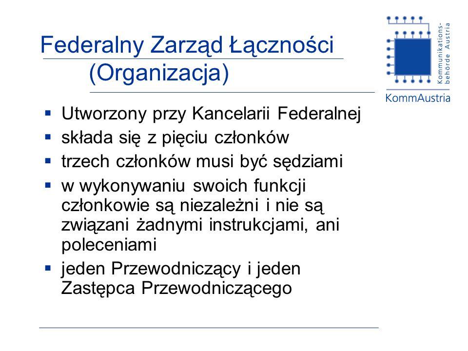 Federalny Zarząd Łączności (Organizacja)