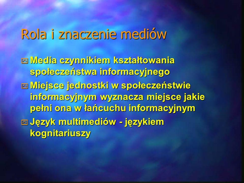 Rola i znaczenie mediów
