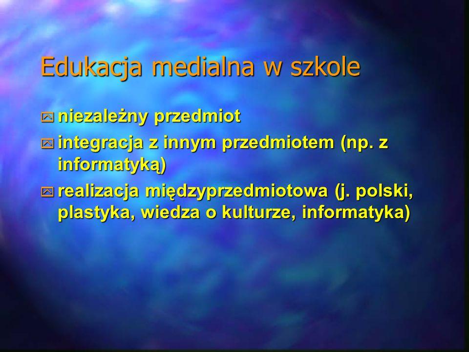 Edukacja medialna w szkole