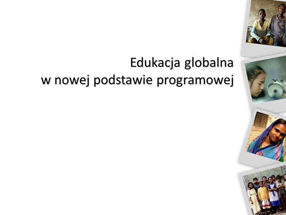 Edukacja globalna w nowej podstawie programowej
