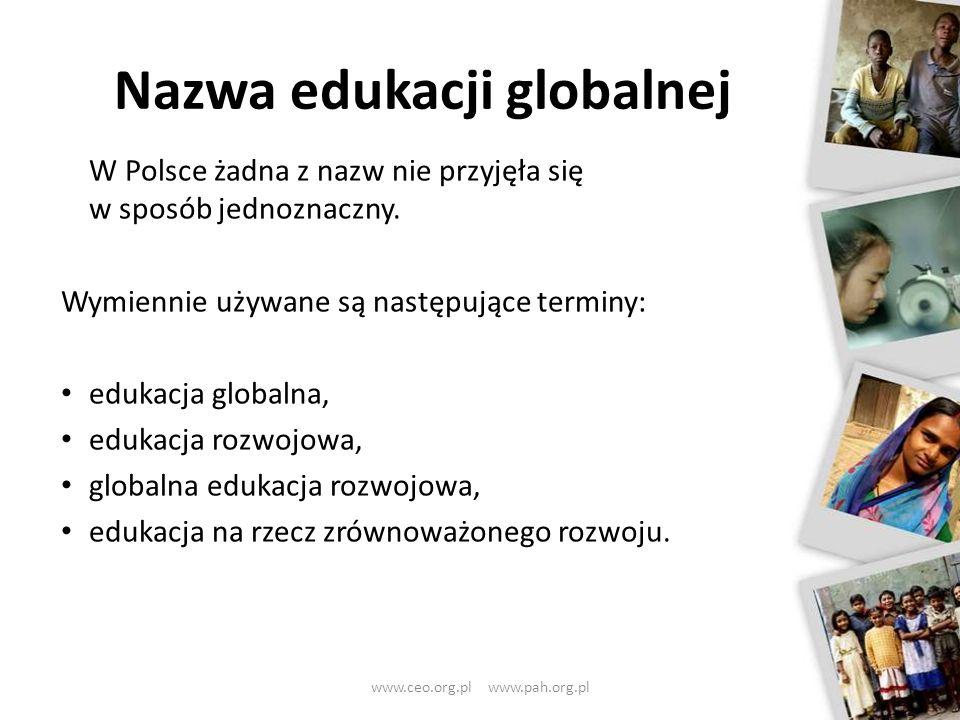 Nazwa edukacji globalnej