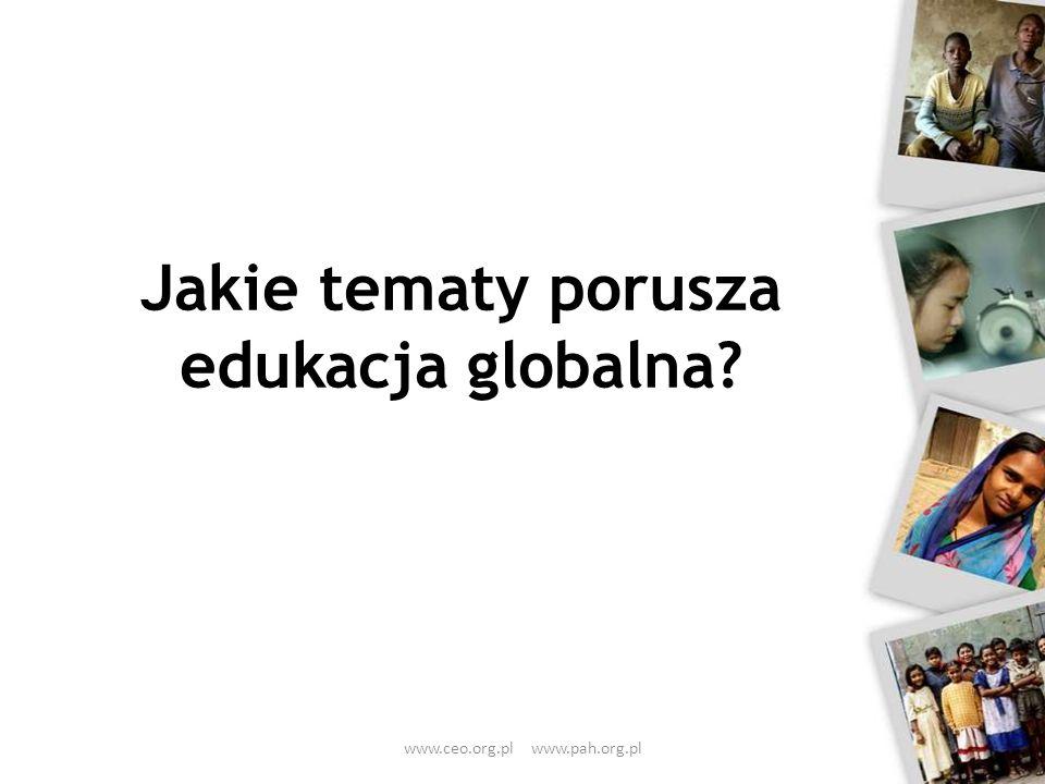 Jakie tematy porusza edukacja globalna