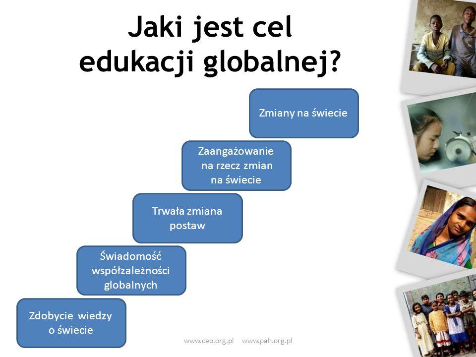 Jaki jest cel edukacji globalnej