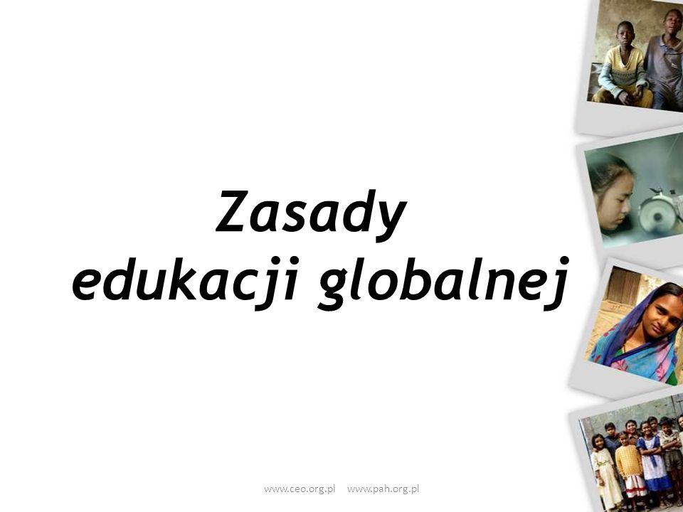 Zasady edukacji globalnej