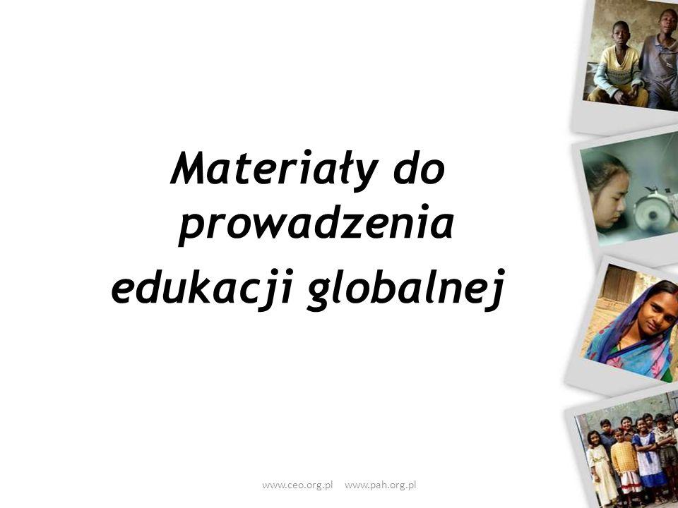 Materiały do prowadzenia edukacji globalnej