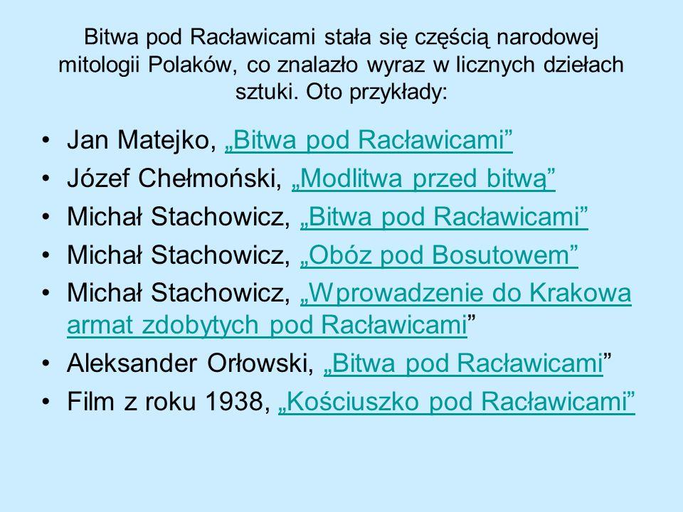 """Jan Matejko, """"Bitwa pod Racławicami"""