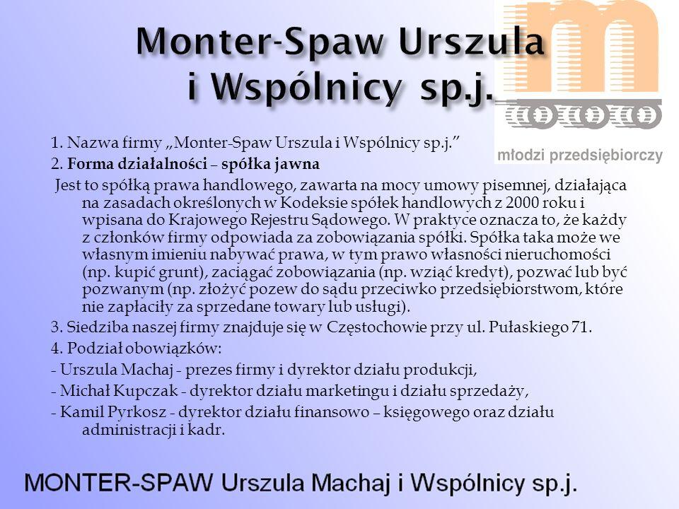 Monter-Spaw Urszula i Wspólnicy sp.j.