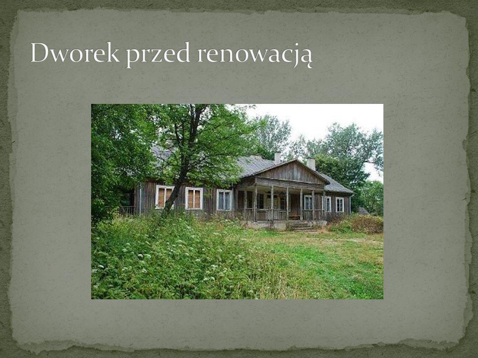 Dworek przed renowacją