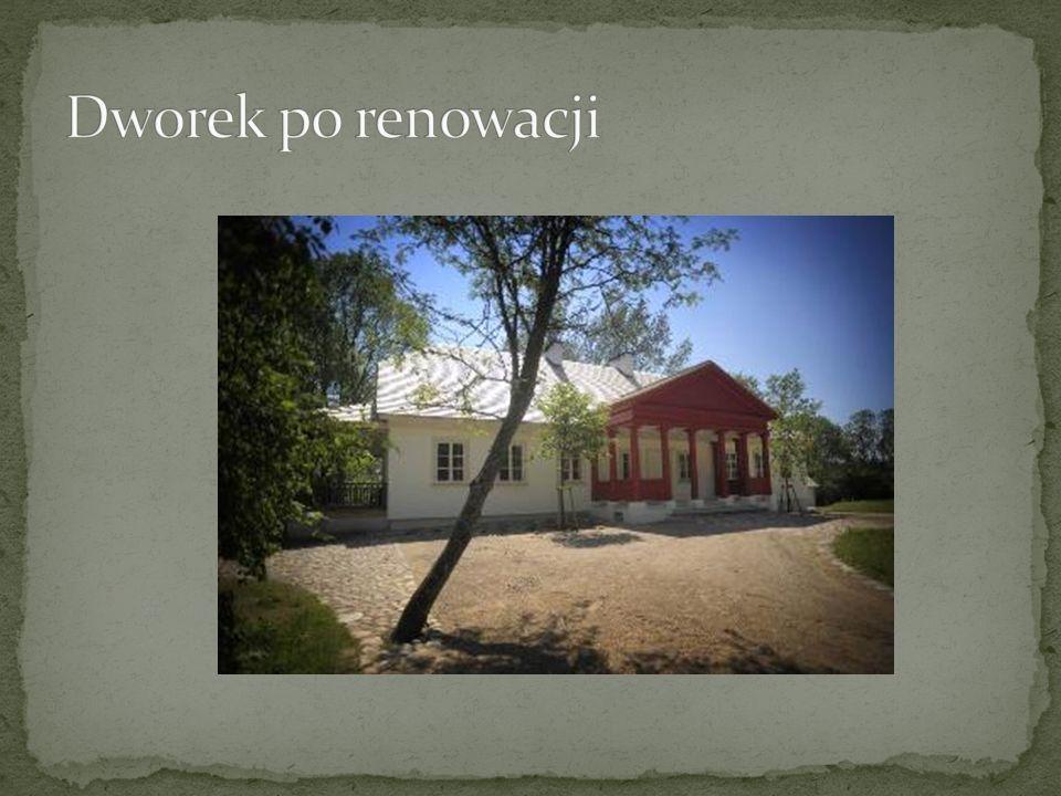 Dworek po renowacji
