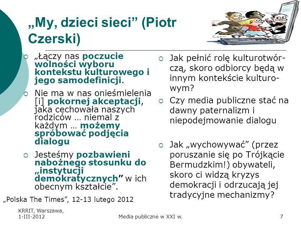 """""""My, dzieci sieci (Piotr Czerski)"""