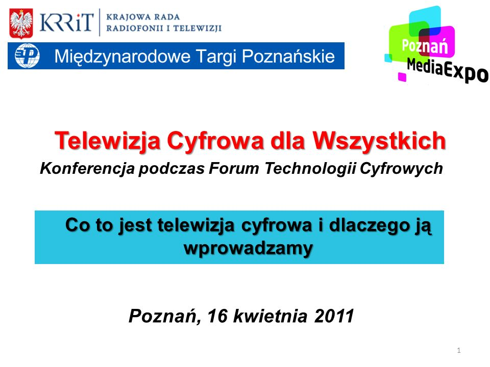 Konferencja podczas Forum Technologii Cyfrowych