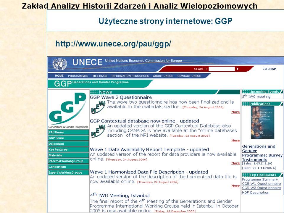 Użyteczne strony internetowe: GGP