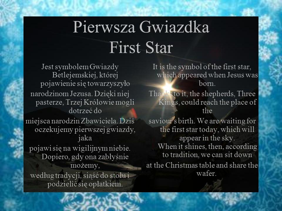 Pierwsza Gwiazdka First Star