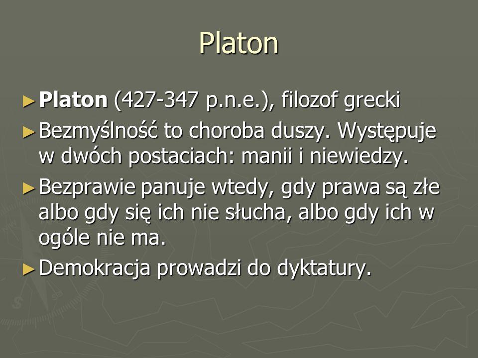 Platon Platon (427-347 p.n.e.), filozof grecki