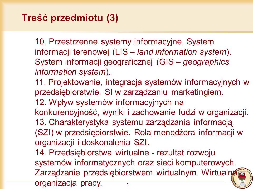 Treść przedmiotu (3)