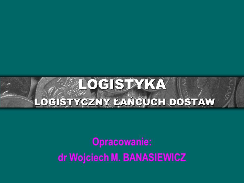 LOGISTYKA LOGISTYCZNY ŁAŃCUCH DOSTAW