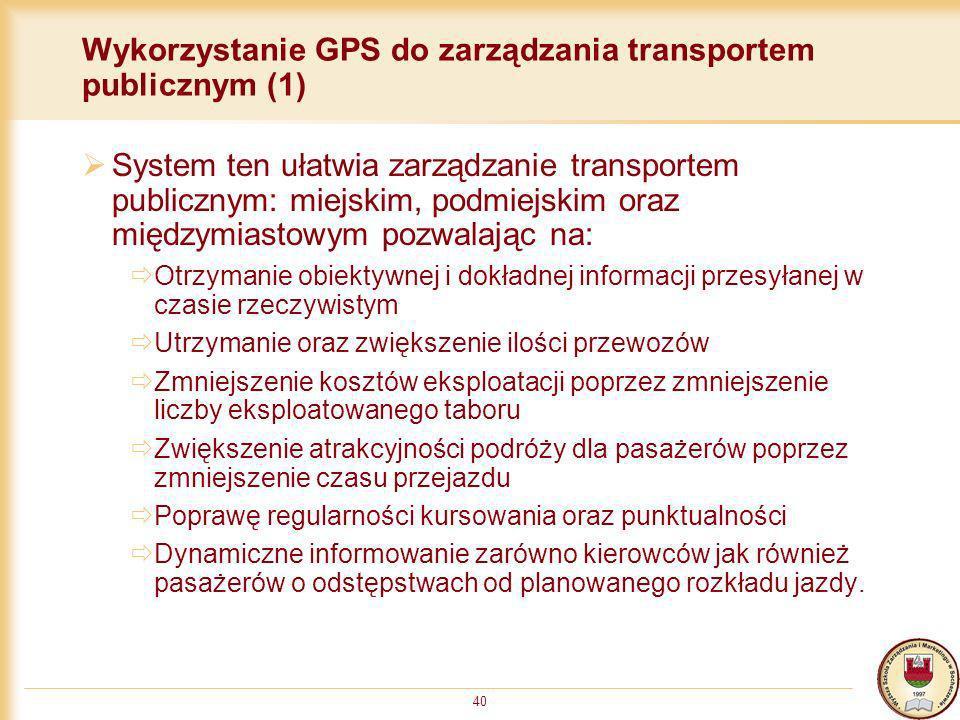 Wykorzystanie GPS do zarządzania transportem publicznym (1)