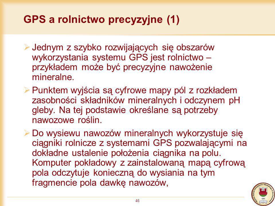 GPS a rolnictwo precyzyjne (1)