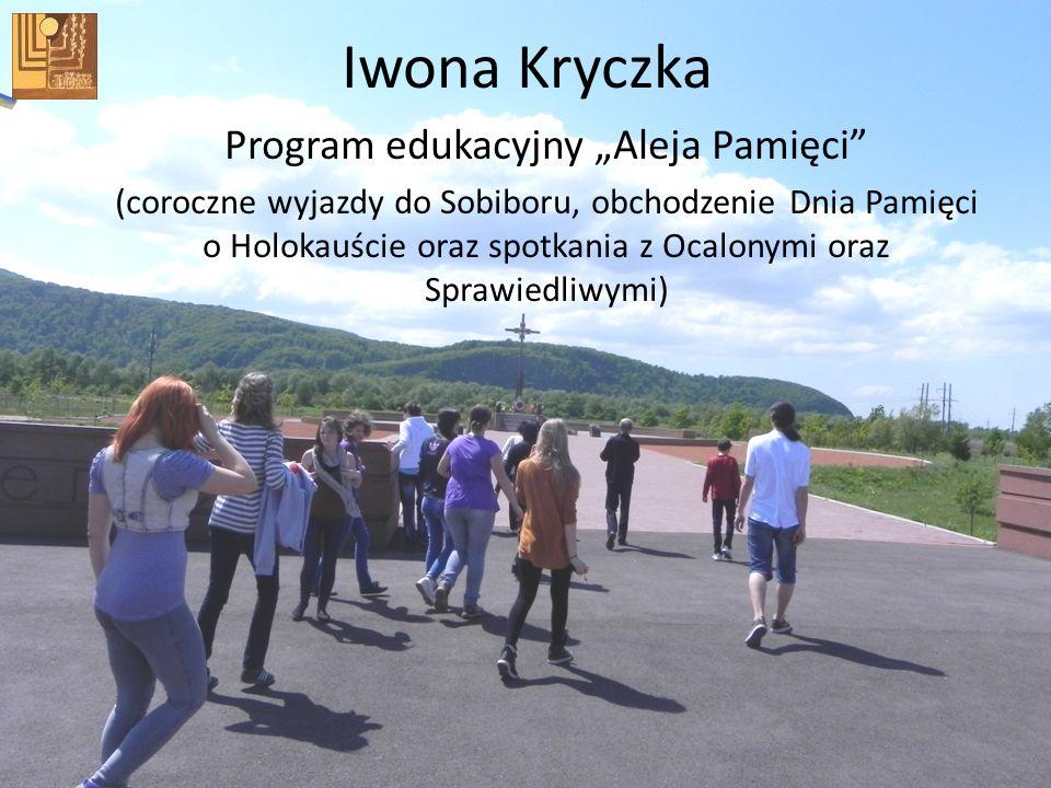 """Program edukacyjny """"Aleja Pamięci"""