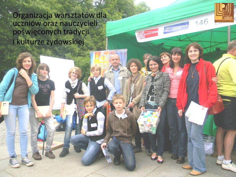 Organizacja warsztatów dla uczniów oraz nauczycieli poświęconych tradycji