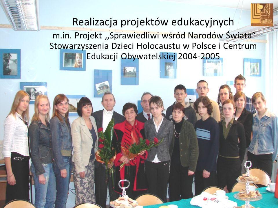 Realizacja projektów edukacyjnych