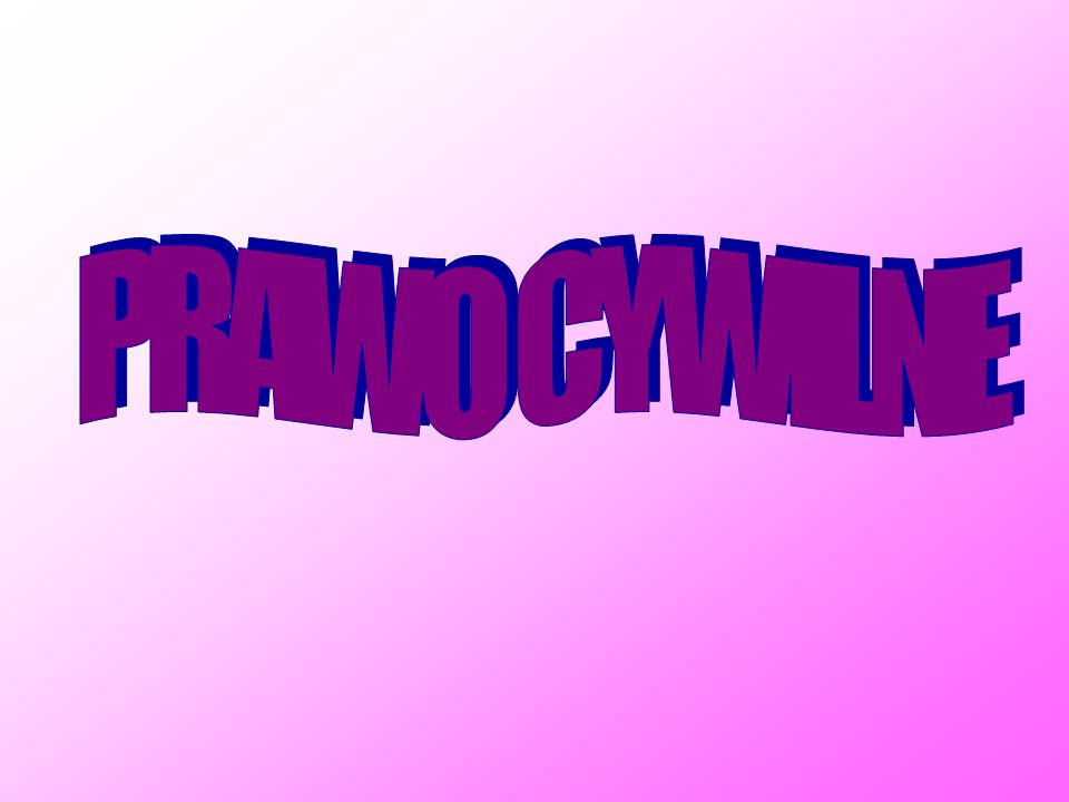 PRAWO CYWILNE