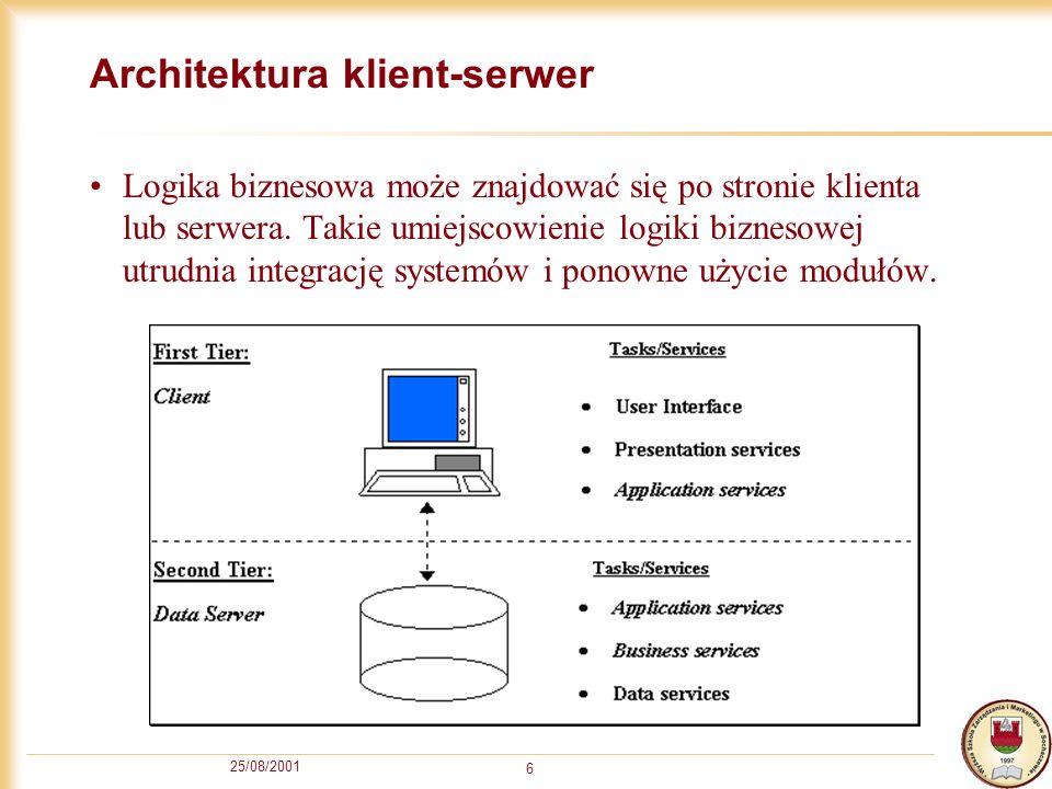 Architektura klient-serwer