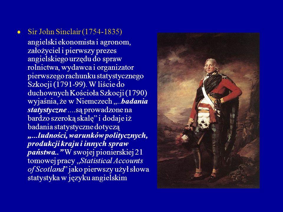 Sir John Sinclair (1754-1835)