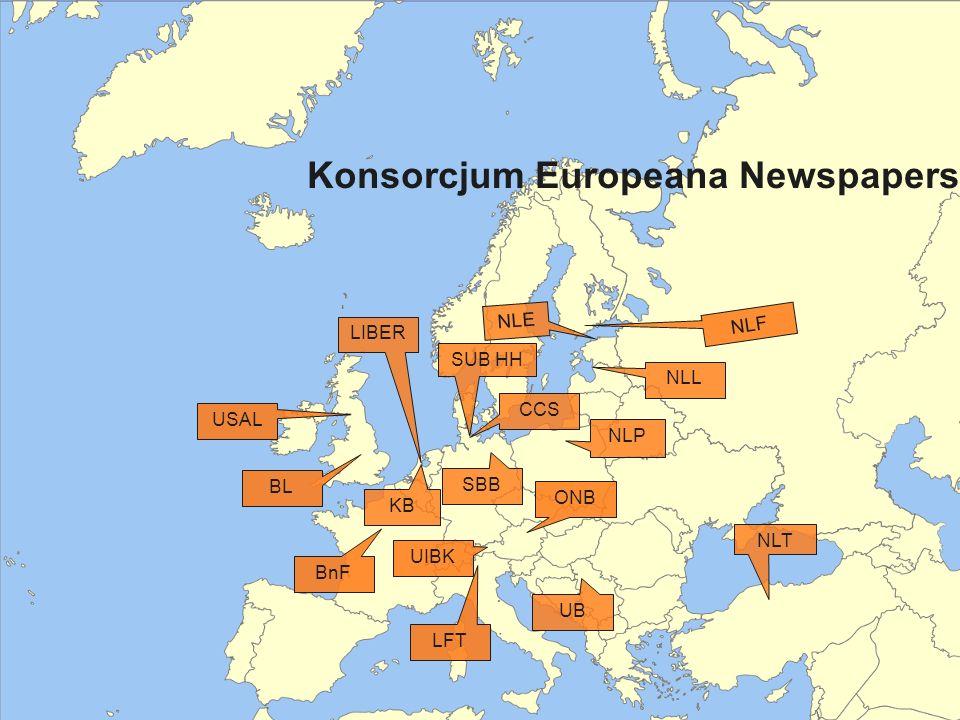 Konsorcjum Europeana Newspapers