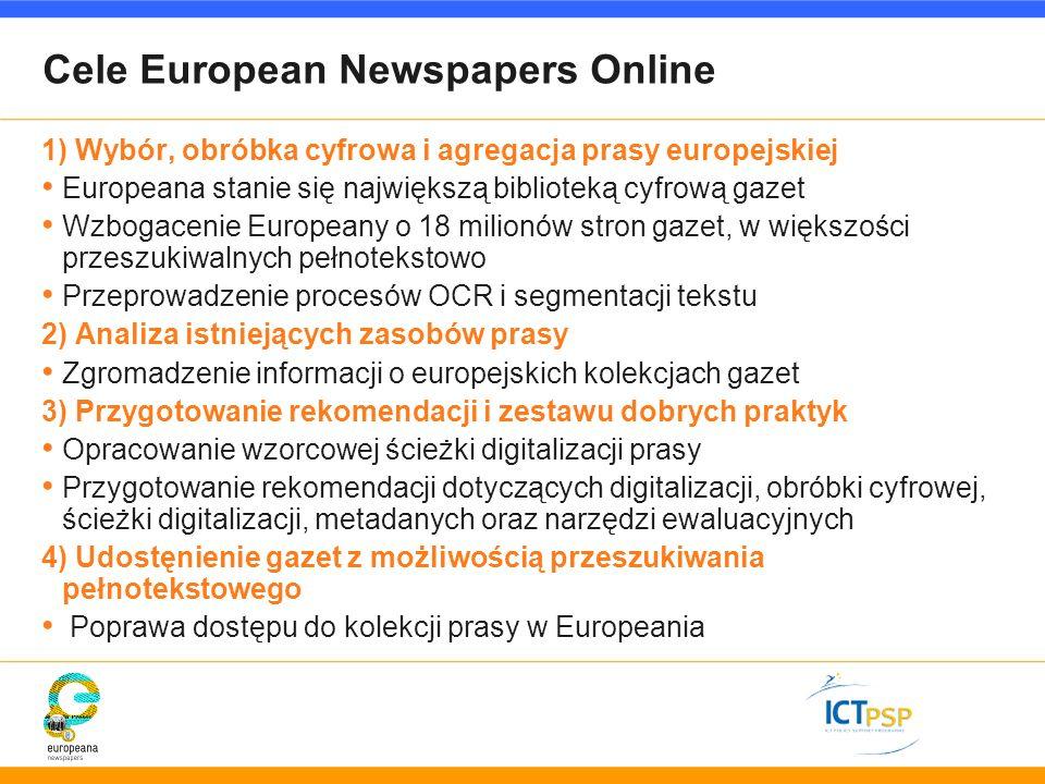 Cele European Newspapers Online