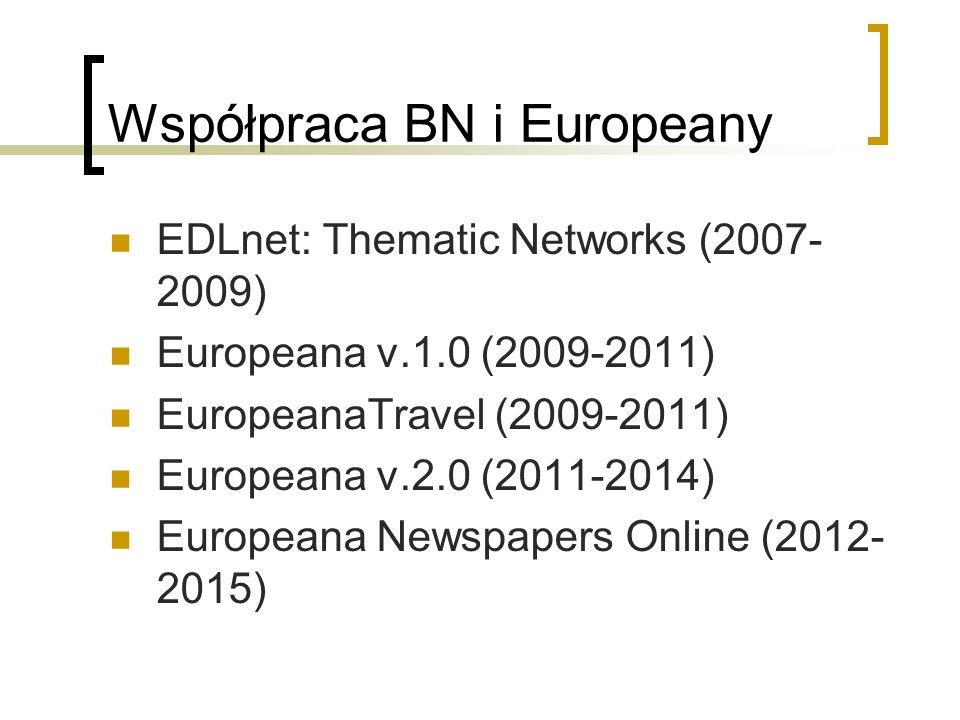 Współpraca BN i Europeany