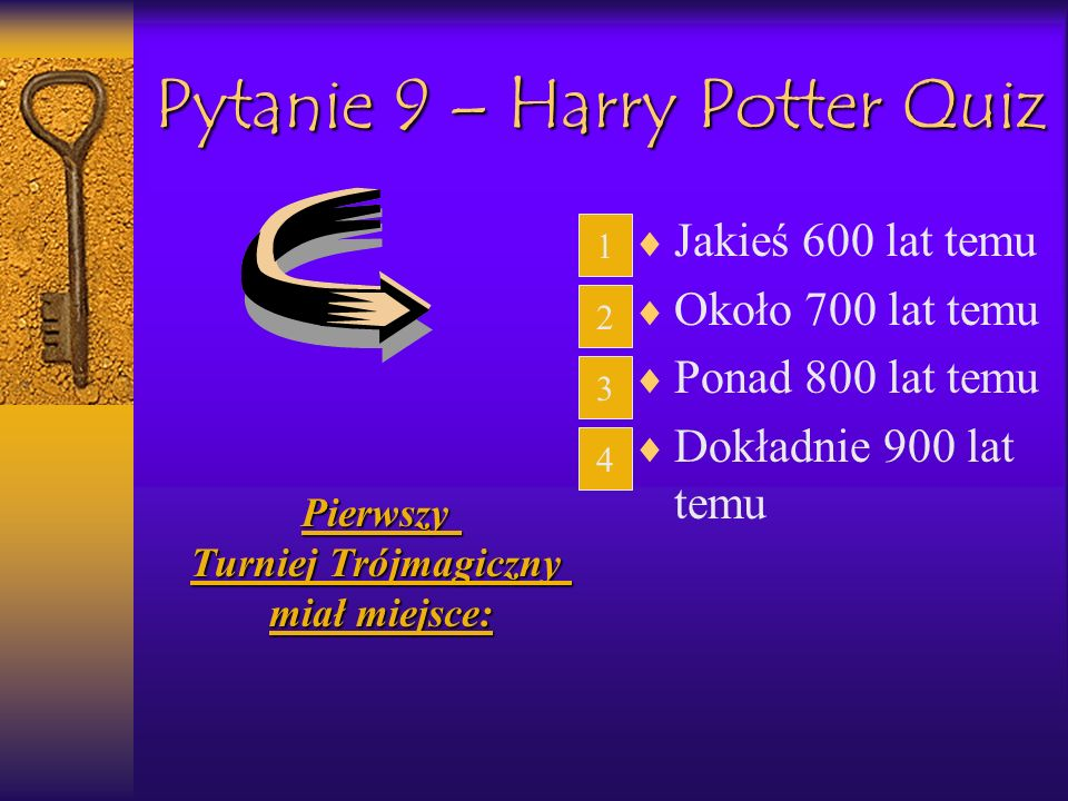 Pytanie 9 – Harry Potter Quiz
