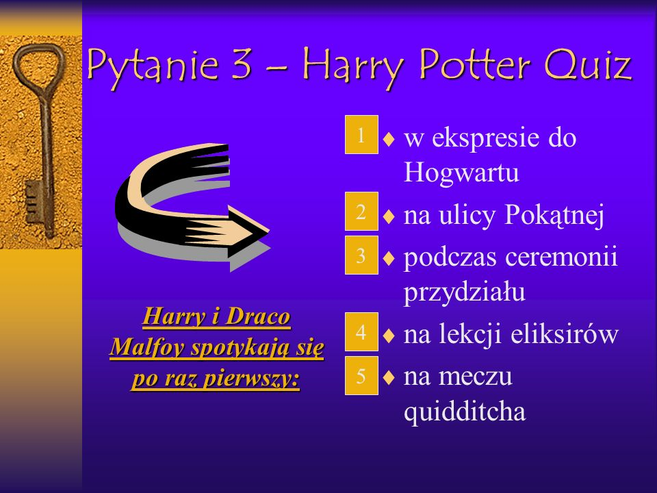 Pytanie 3 – Harry Potter Quiz