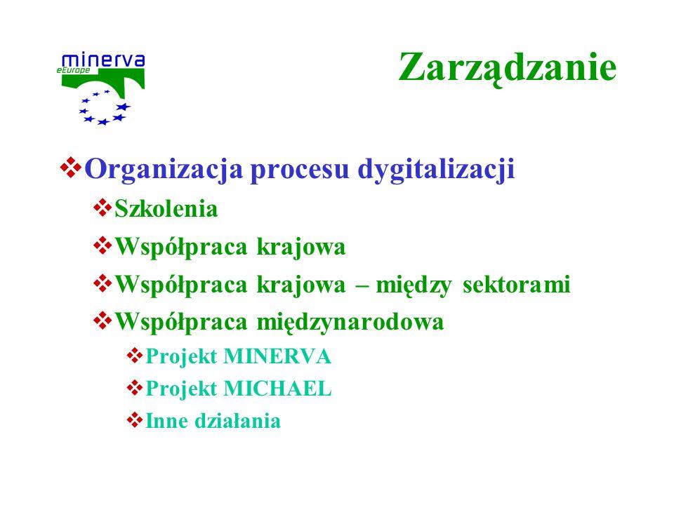 Zarządzanie Organizacja procesu dygitalizacji Szkolenia