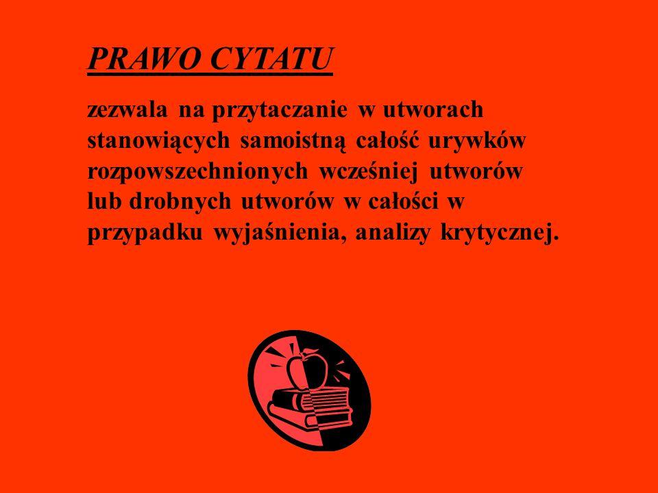 PRAWO CYTATU