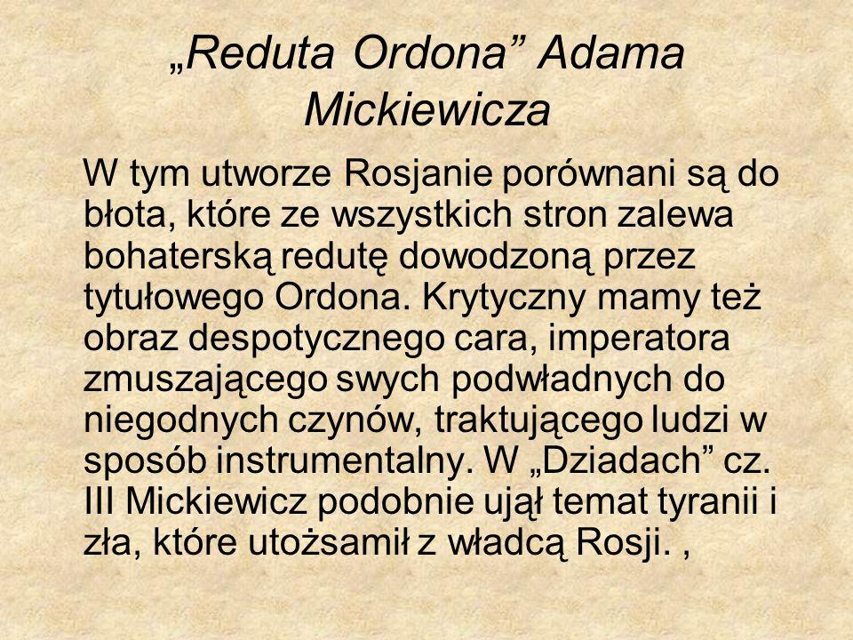 """Reduta Ordona Adama Mickiewicza"