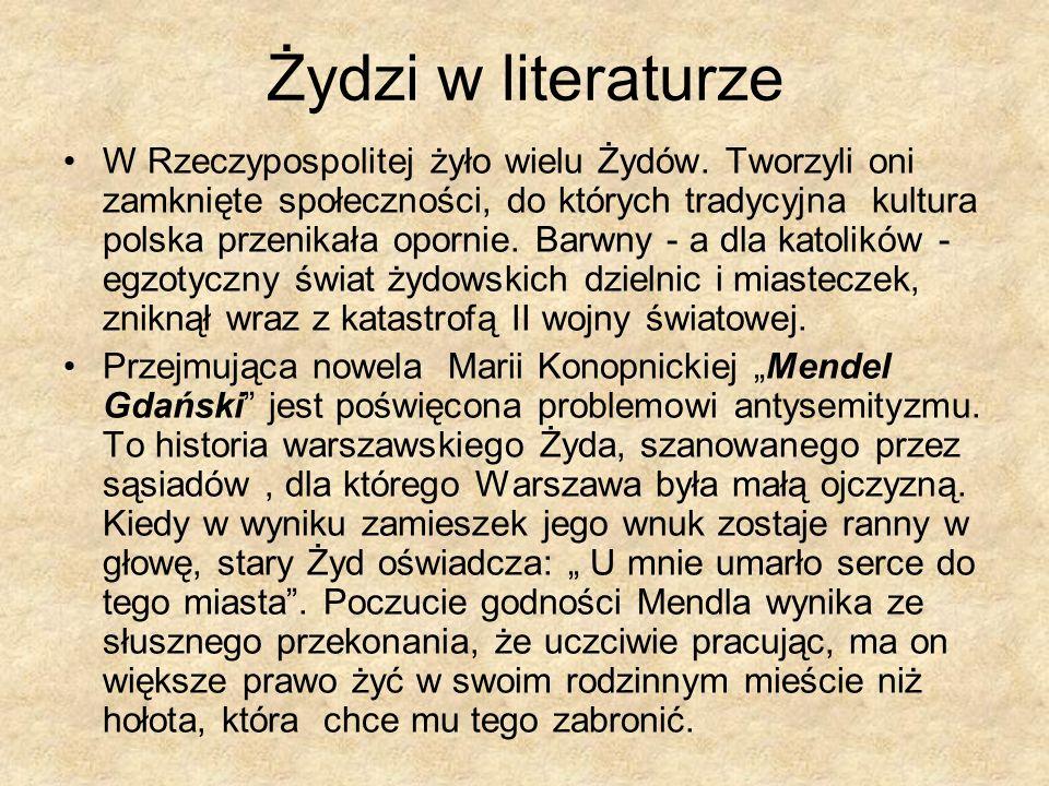 Żydzi w literaturze