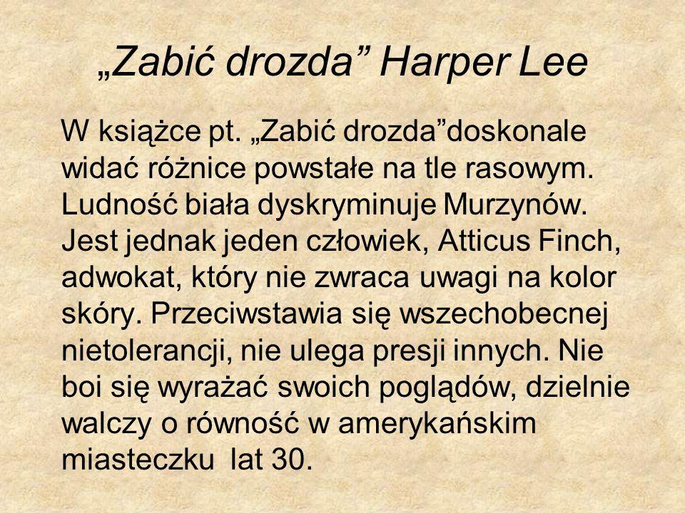 """""""Zabić drozda Harper Lee"""
