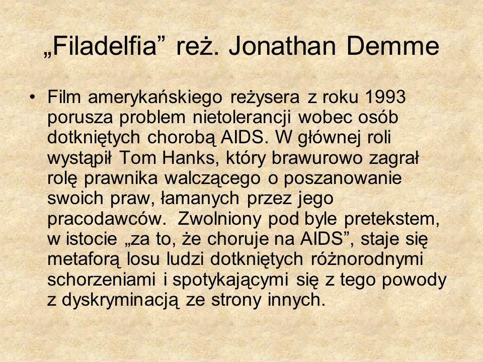 """Filadelfia reż. Jonathan Demme"