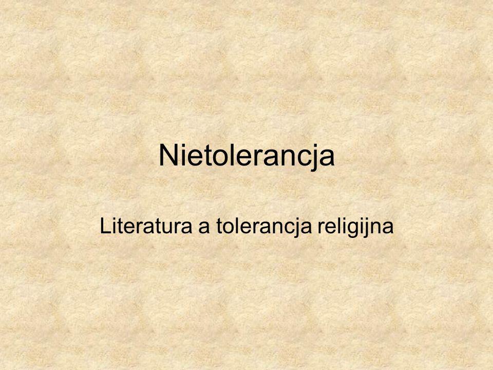 Literatura a tolerancja religijna
