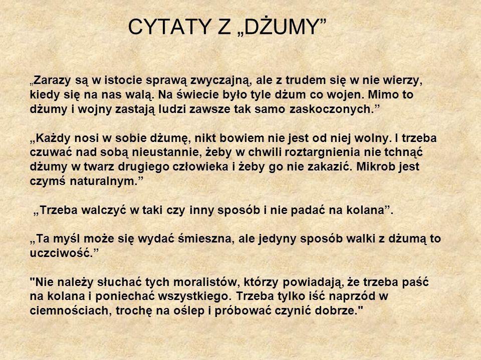 """CYTATY Z """"DŻUMY"""