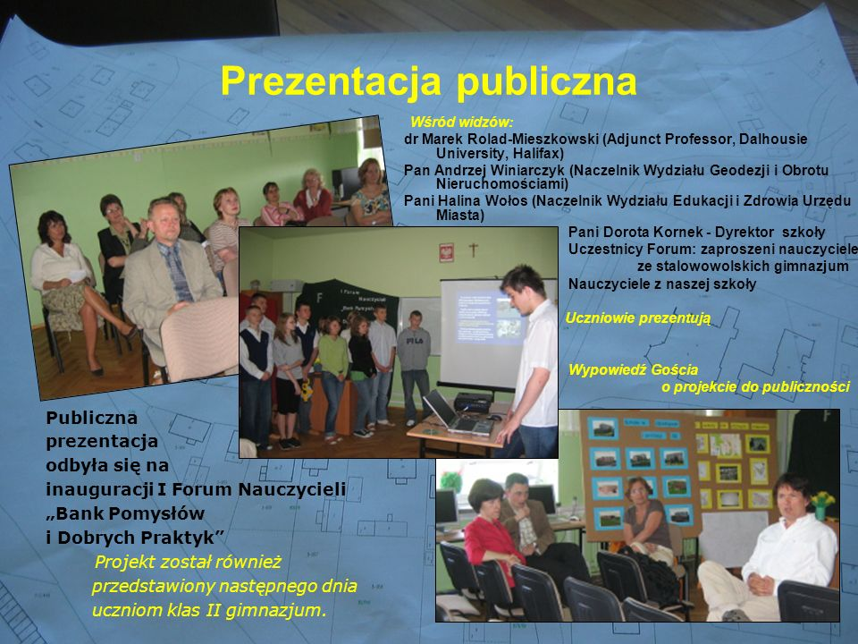Prezentacja publiczna