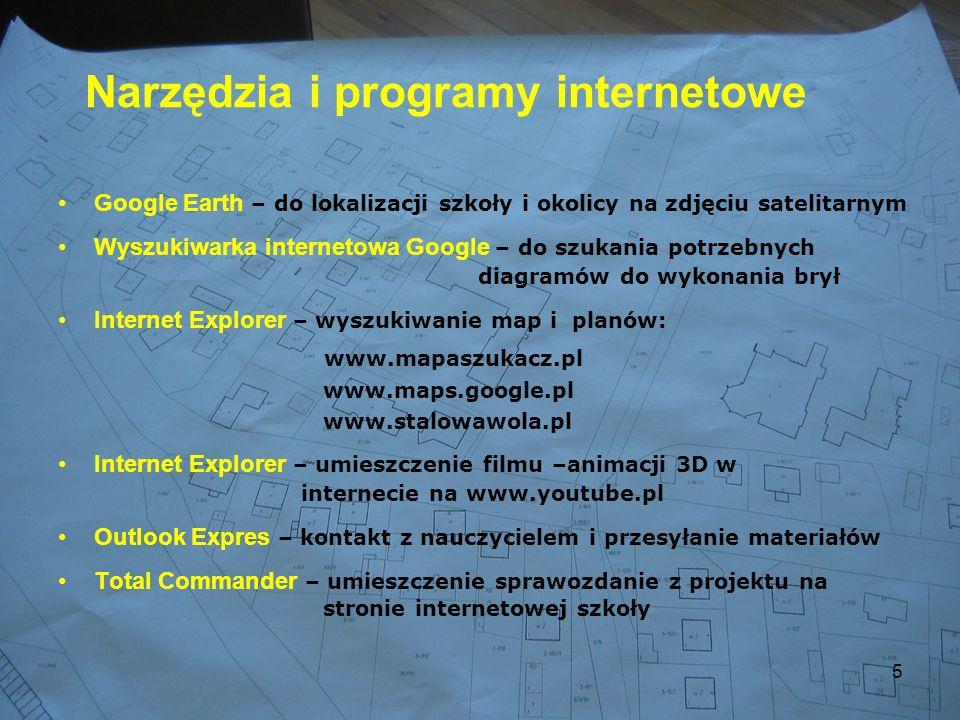 Narzędzia i programy internetowe