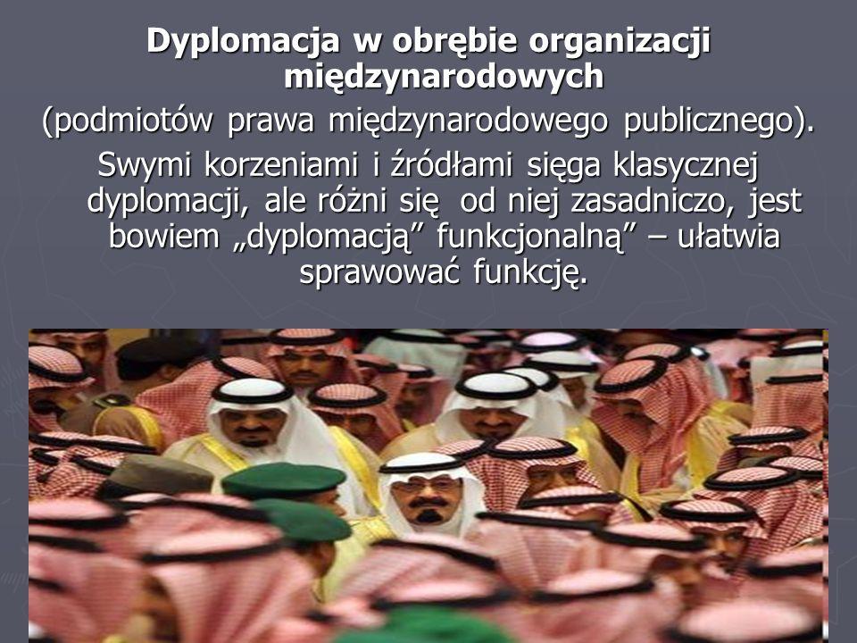 Dyplomacja w obrębie organizacji międzynarodowych