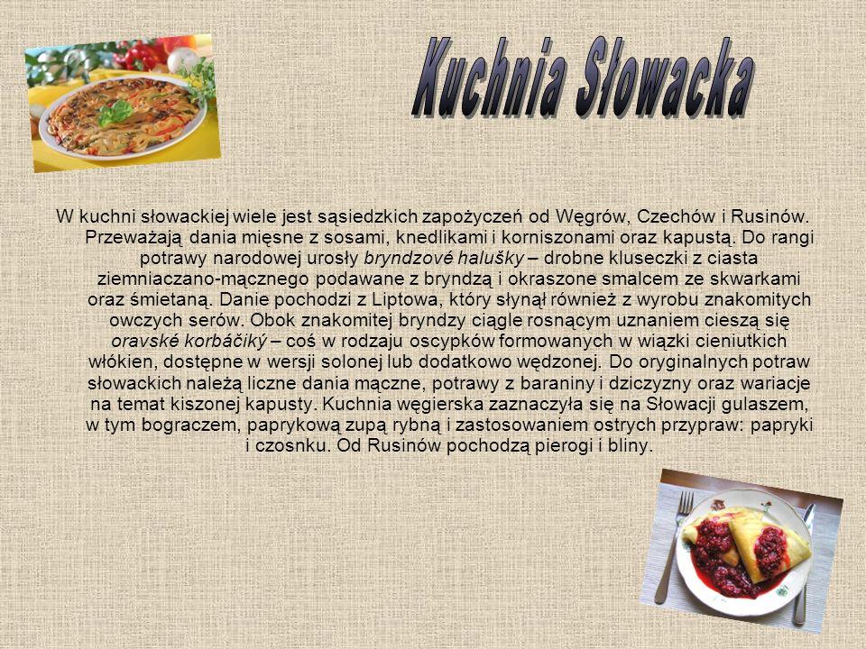 Kuchnia Słowacka