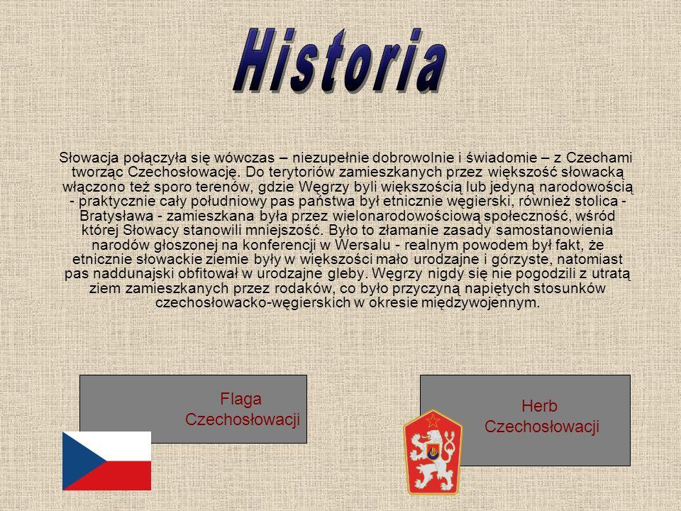 Historia Flaga Czechosłowacji Herb Czechosłowacji