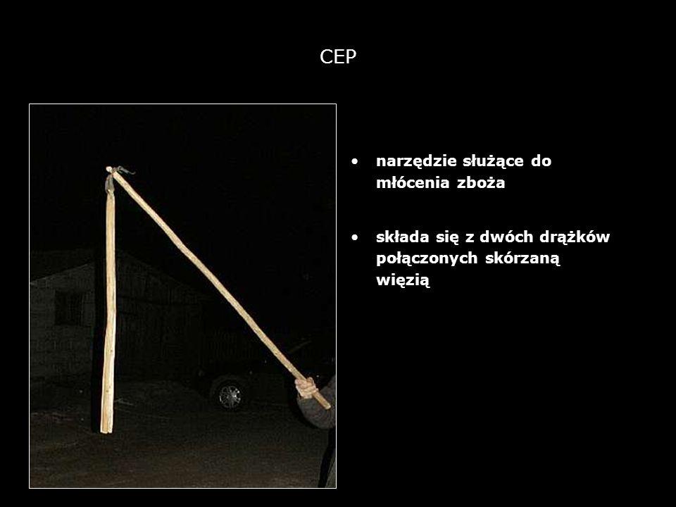 CEP narzędzie służące do młócenia zboża