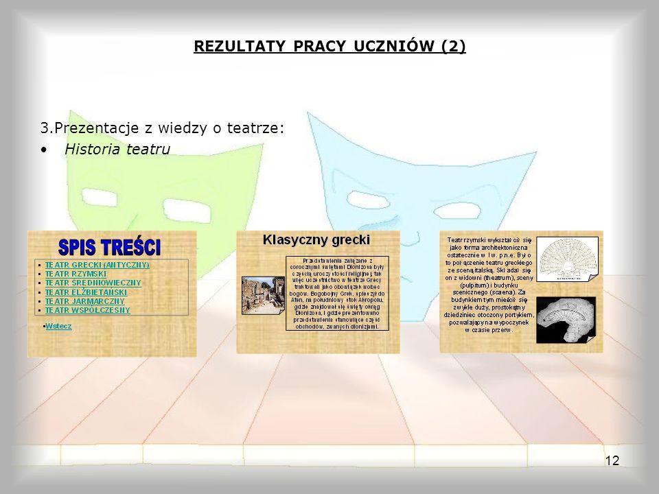 REZULTATY PRACY UCZNIÓW (2)